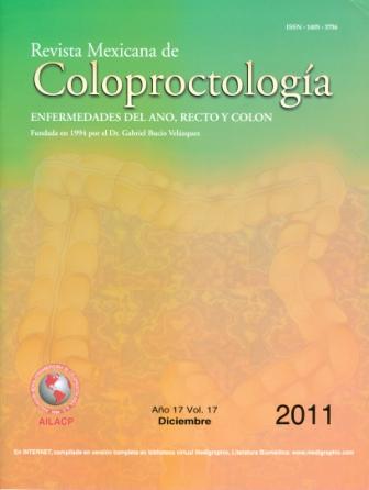 revista mexicana de coloproctología